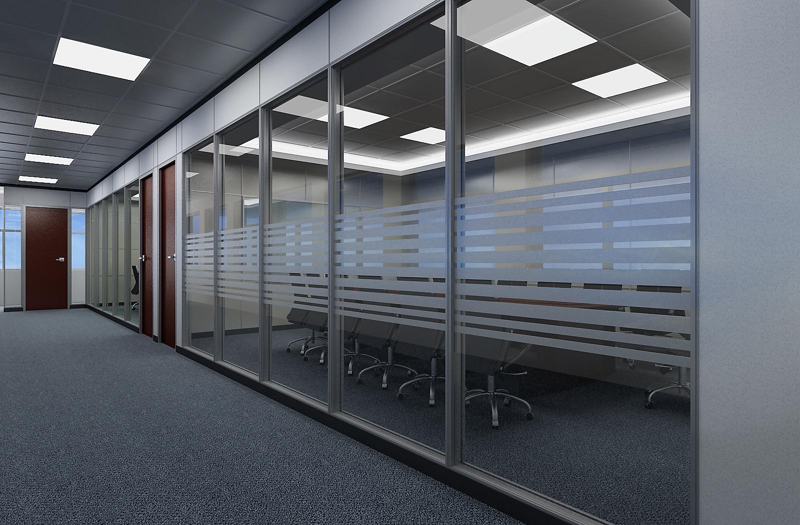 办公隔断对办公空间进行合理分割